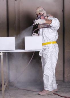 Công nghệ phun sơn tĩnh điện nước